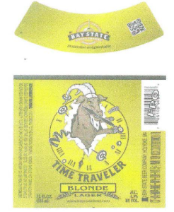 Time Traveler Blonde Lager